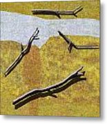 0291 Abstract Landscape Metal Print