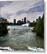 03 Three Sisters Island Metal Print