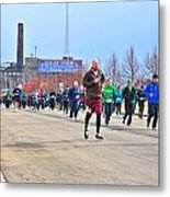 037 Shamrock Run Series Metal Print