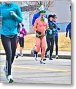 038 Shamrock Run Series Metal Print
