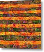 0427 Abstract Thought Metal Print