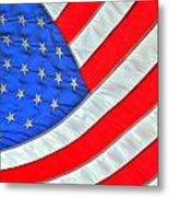 05 American Flag Metal Print