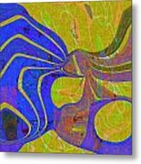 0565 Abstract Thought Metal Print