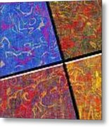 0580 Abstract Thought Metal Print