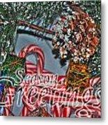 06 Christmas Cards Metal Print
