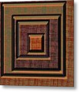 0622 Abstract Thought Metal Print