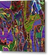 0661 Abstract Thought Metal Print
