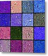 0663 Abstract Thought Metal Print
