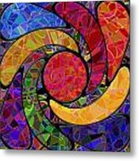 0677 Abstract Thought Metal Print
