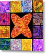 0690 Abstract Thought Metal Print