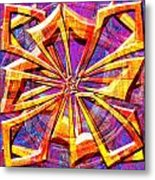 0692 Abstract Thought Metal Print