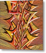0695 Abstract Thought Metal Print