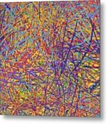 0705 Abstract Thought Metal Print