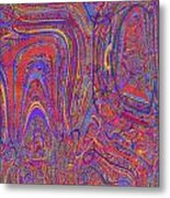 0708 Abstract Thought Metal Print