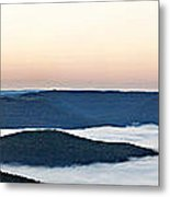 0710-0037 Sunrise At Firetower Road Metal Print by Randy Forrester