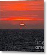 Sunrise Falmouth Docks Metal Print