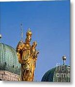 Towers Of Frauenkirche Metal Print