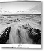 Welsh Coast Metal Print