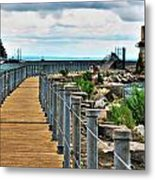 001 Peace Bridge Series Metal Print