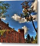 002 The 74th Regimental Armory In Buffalo New York Metal Print