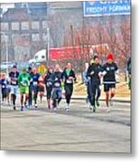 013 Shamrock Run Series Metal Print