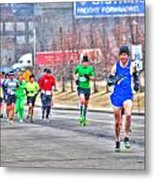 03 Shamrock Run Series Metal Print