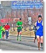 04 Shamrock Run Series Metal Print