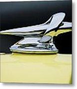 1934 Packard Hood Ornament 4 Metal Print