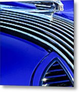 1936 Pontiac Hood Ornament Metal Print