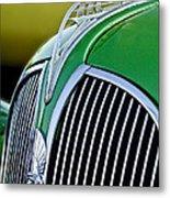 1937 Plymouth Hood Ornament Metal Print