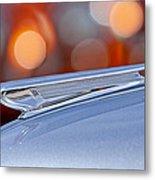 1938 Chevrolet Hood Ornament Metal Print