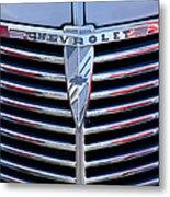 1939 Chevrolet Grille Metal Print