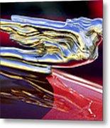 1941 Cadillac Hood Ornament Metal Print