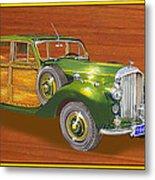 1947 Bentley Shooting Brake Metal Print
