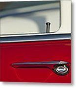 1955 Chevrolet 210 Door Handle Metal Print