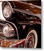 1955 Ford Fairlane Crown Victoria 2-door Hardtop Metal Print