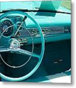 1957 Chevy Convertable Metal Print