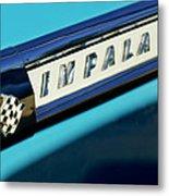 1959 Chevrolet Impala Emblem Metal Print