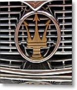 1960 Maserati 3500 Gt Coupe Emblem Metal Print