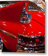 1961 Chrysler 300g 2-door Hardtop Metal Print