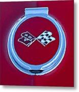1967 Chevrolet Corvette Emblem Metal Print