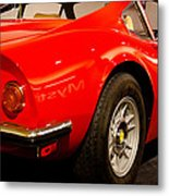 1973 Ferrari Dino 246 Gt Metal Print