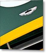 1993 Aston Martin Dbr2 Recreation Hood Emblem Metal Print by Jill Reger