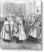 1st Vatican Council, 1869 Metal Print