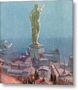 7 Wonders Of The World, Colossus Metal Print