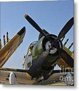 A-1d Skyraider Metal Print