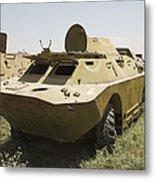 A Brdm-2 Combat Reconnaissancepatrol Metal Print