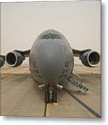 A C-17 Globemaster IIi Sits Metal Print