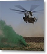 A Ch-53 Super Stallion Helicopter Metal Print