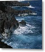 A Coastal View Of The Southeast Corner Metal Print